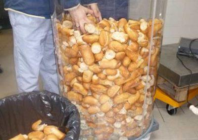 Gâchimètre à pain en collèges et lycées